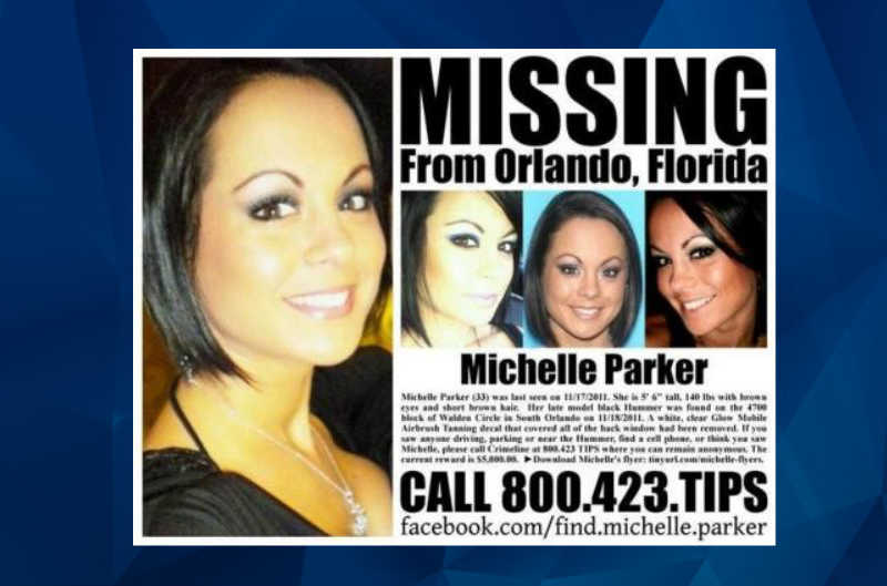 Michelle Parker missing banner