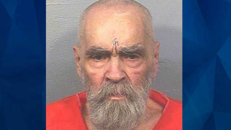 Charles Manson new mugshot