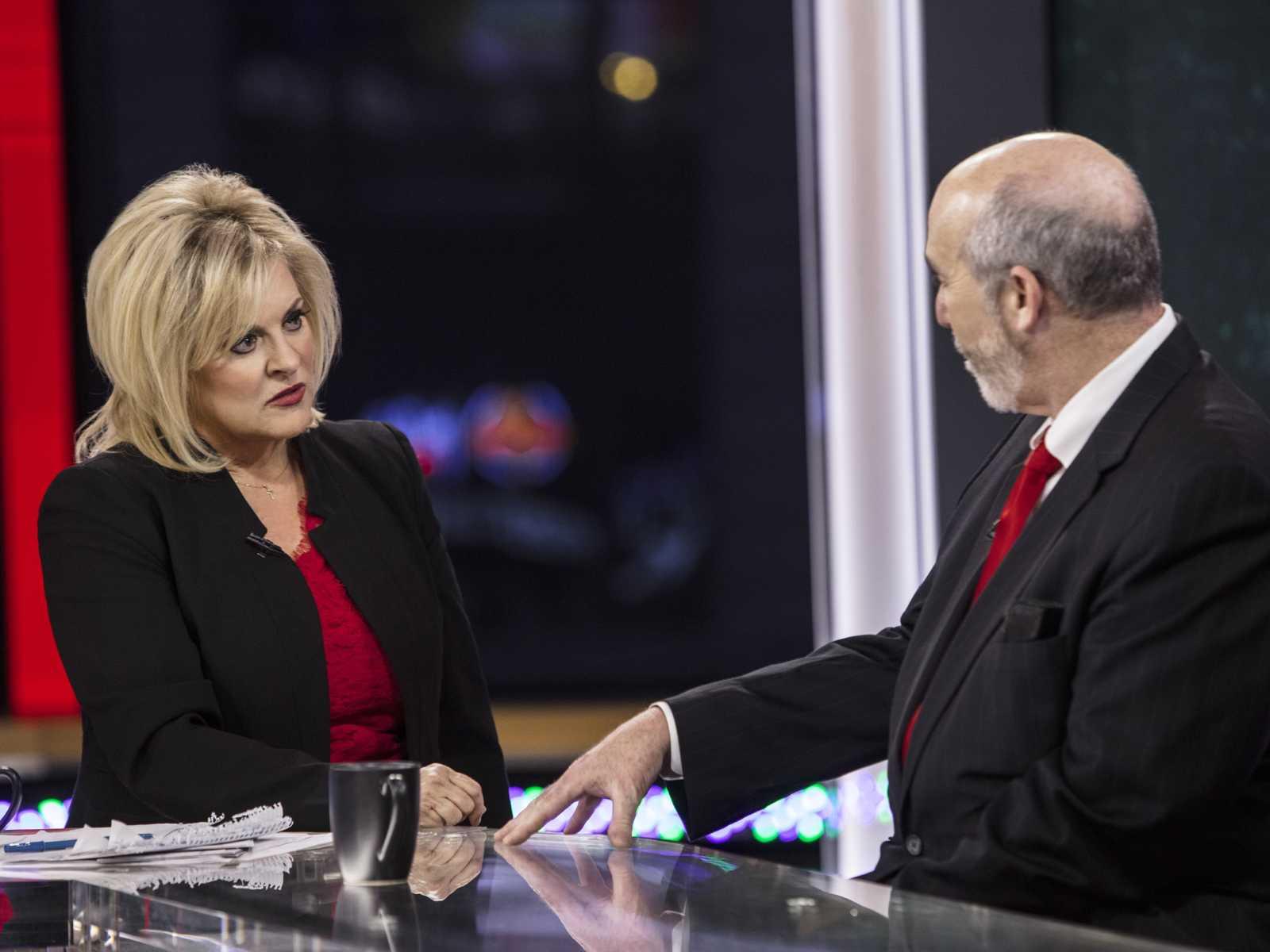 oel Brodsky and Nancy Grace