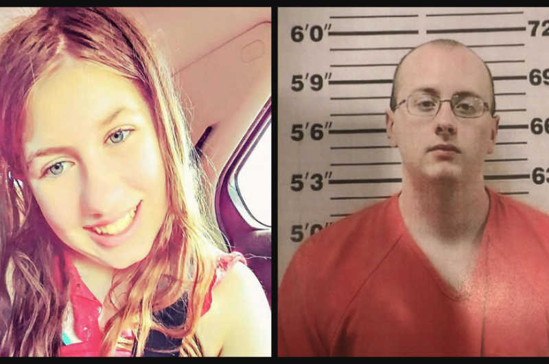 Jayme Closs and Jake Patterson