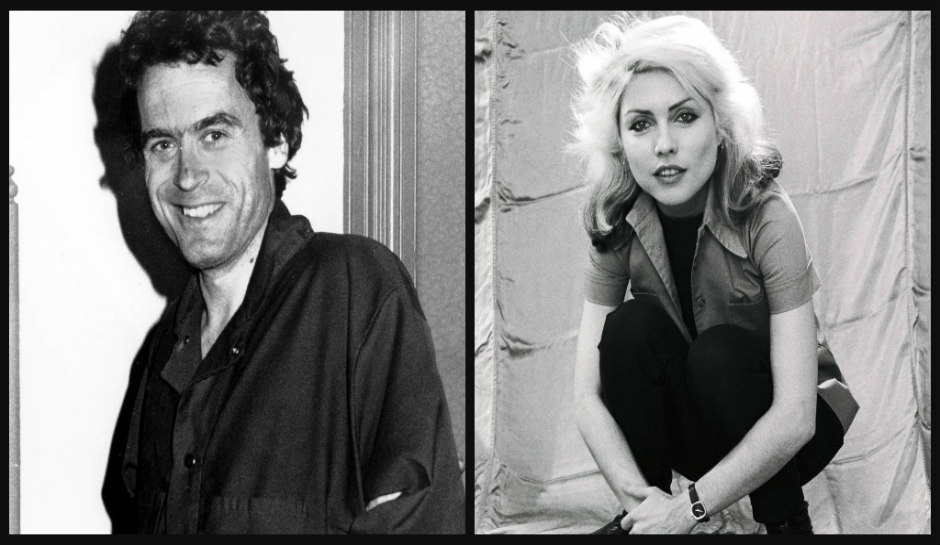 Ted Bundy and Debbie Harry