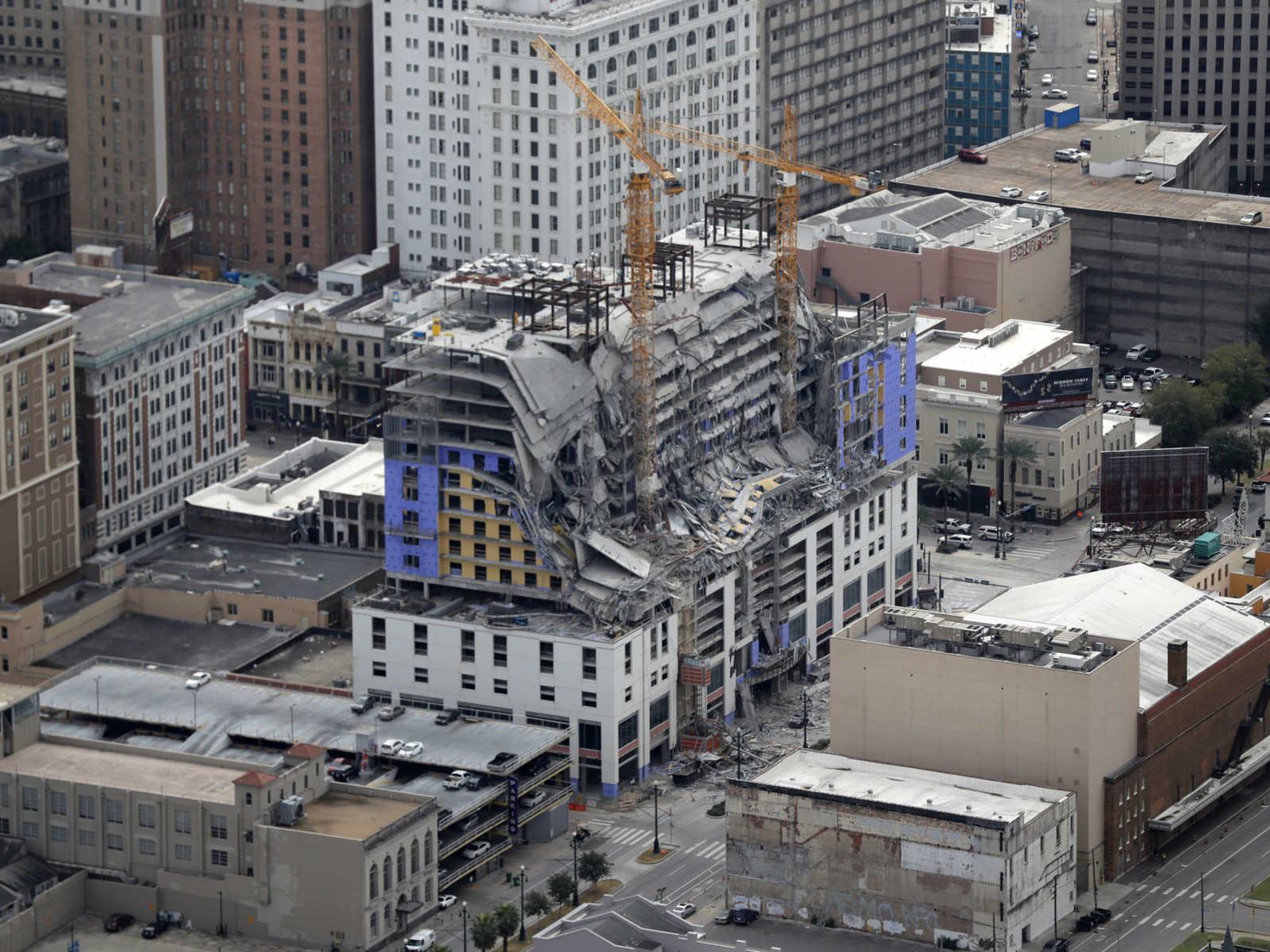 Hard Rock Hotel collapse