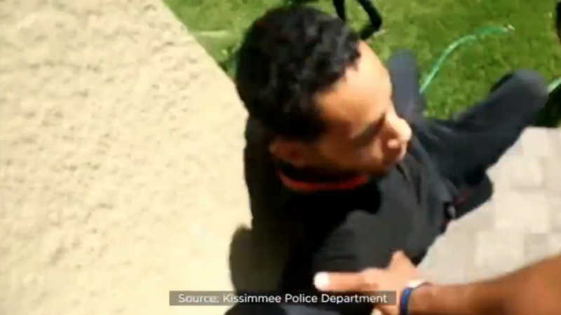 teen pushed off roof by cops