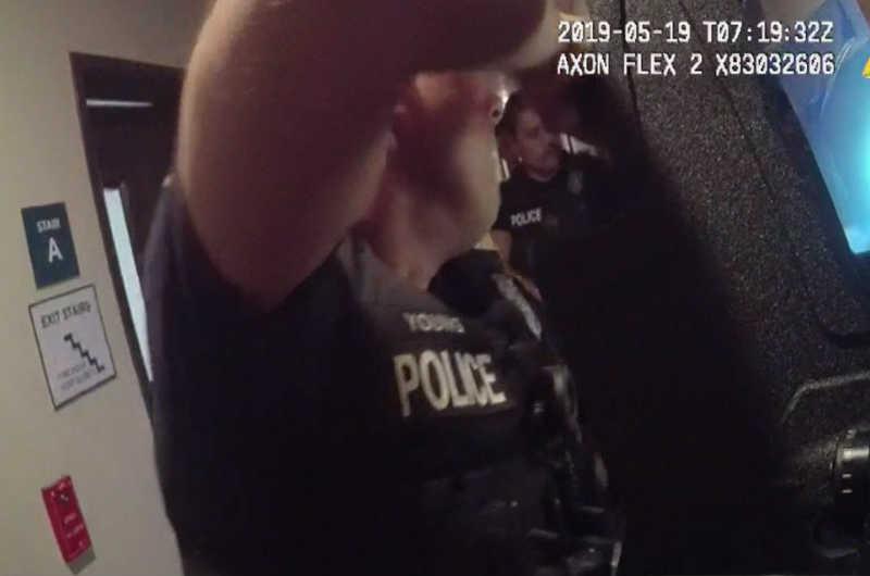 Fort Worth police cam