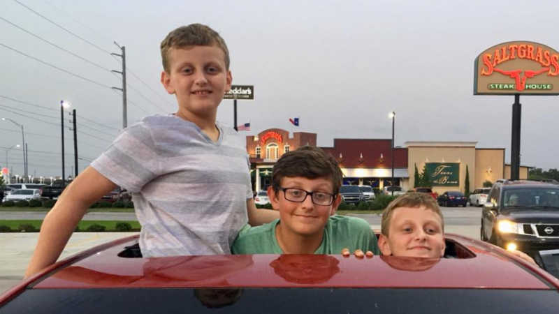 Landon Durham and twins