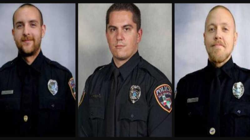 Justin Putnam, Justin Mueller, and Franco Stewart