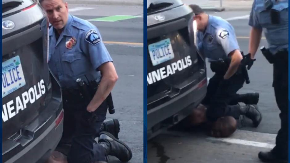BREAKING: Derek Chauvin, cop filmed kneeling on George Floyd's ...