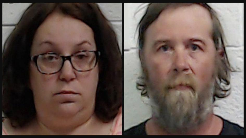 Fraud suspect Julie Wheeler and Rodney Wheeler