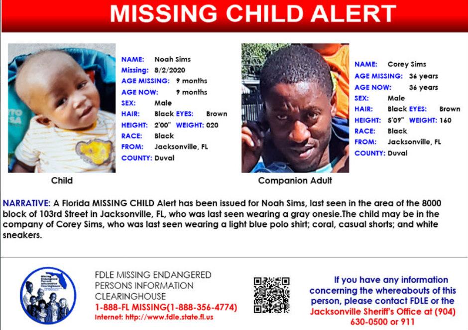Amber Alert Florida Toddler Missing Since Sunday Police Concerned For His Safety Found Safe Crime Online