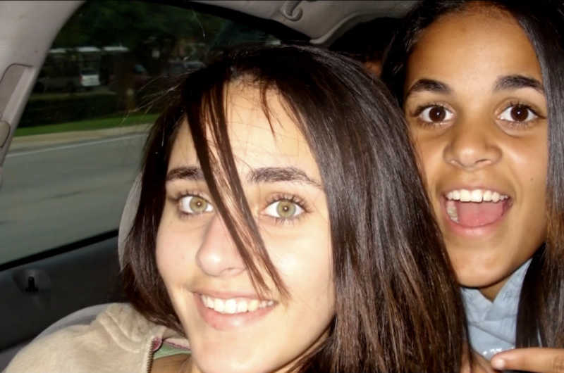 Sarah Yaser Said and Amina Yaser Said