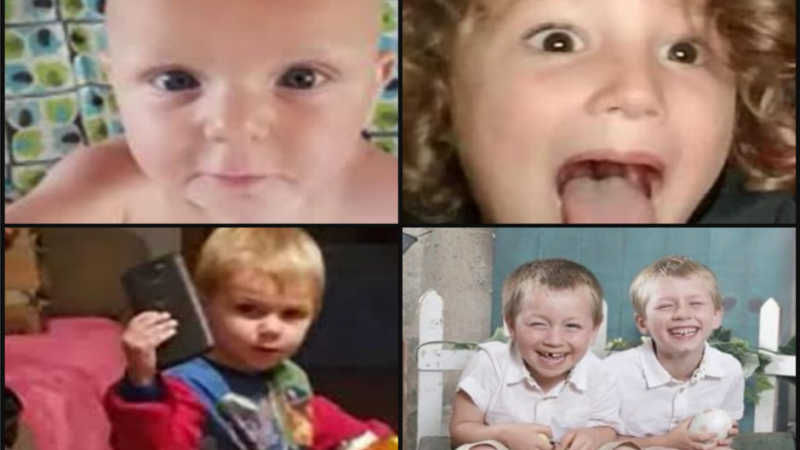 Myers and Bumgarden children