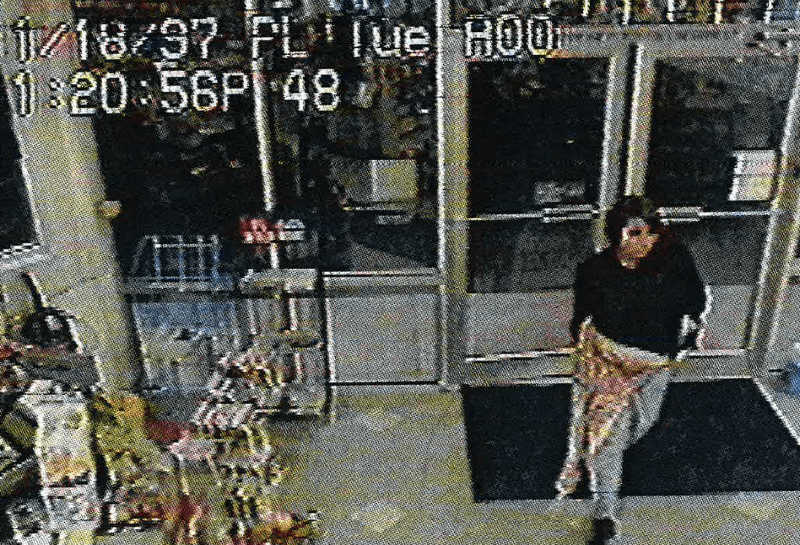 gas station security footage