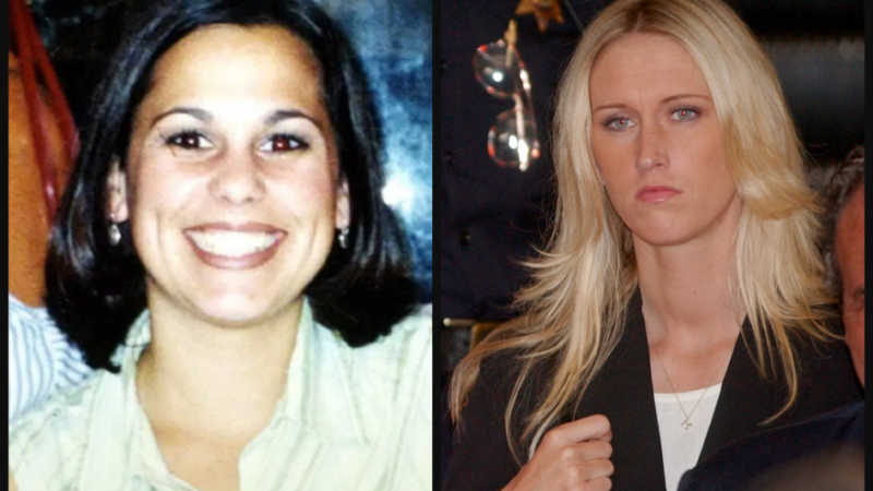 Laci Peterson and Amber Frey