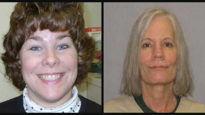 Betsy Faria and Pamela Huff