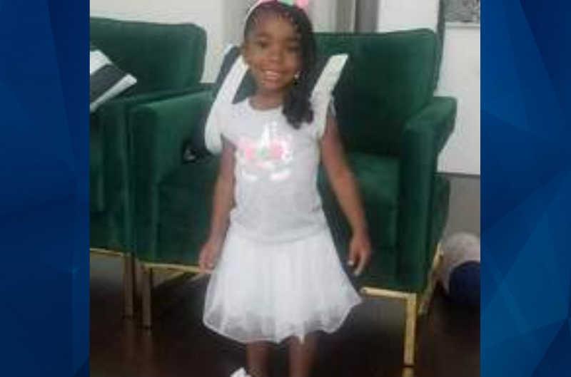 IYanna Allen in white dress