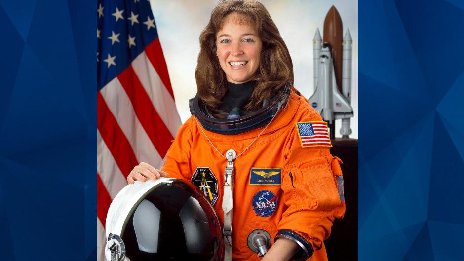 Lisa Nowak in NASA uniform
