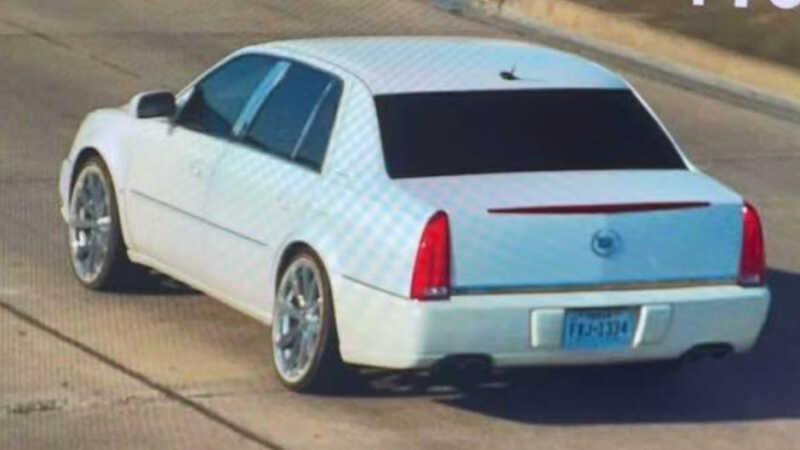 white Cadillac