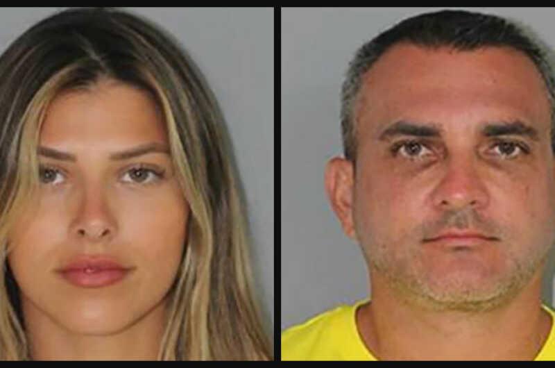 mugshots of Enzo and Daniela Dalmazzo