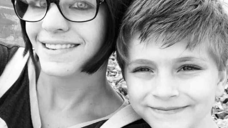 Kelli Kramer and her son Aiden
