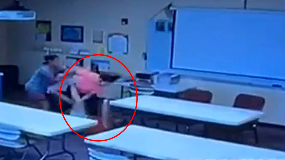 See It: Fed-Up Mom Pummels Teacher Who She Says Abused Her 2-Year-Old Nonverbal Toddler Son